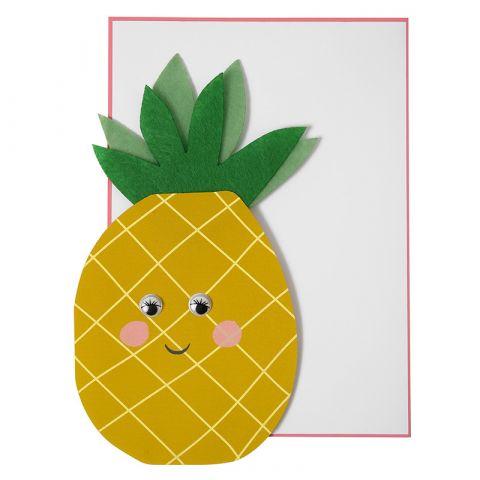 Biglietto di Auguri Ananas