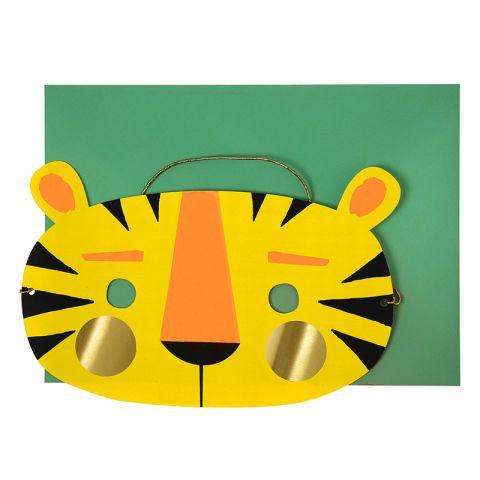 Biglietto di Auguri Tigre