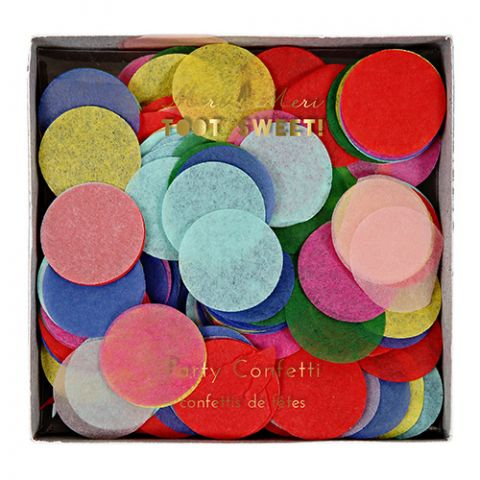 Multicolour Party Confetti from the Meri Meri Party Collection