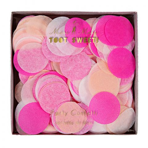 Pink Party Confetti from the Meri Meri Collection