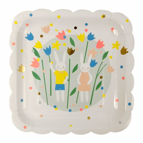 Easter Bunny Large Plates