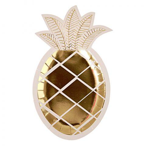 Pineapple Plate from Meri Meri