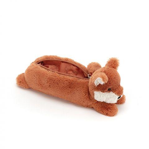 Astuccio Peluche Fox di Jellycat :: acquista su Baby Bottega