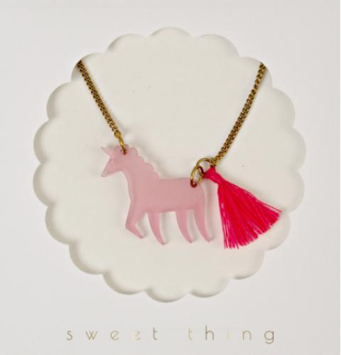 Unicorn Necklace from Meri Meri