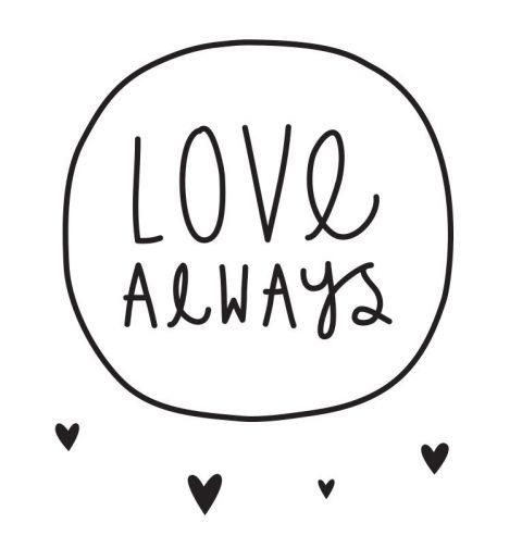 Wall Stickers Love Always
