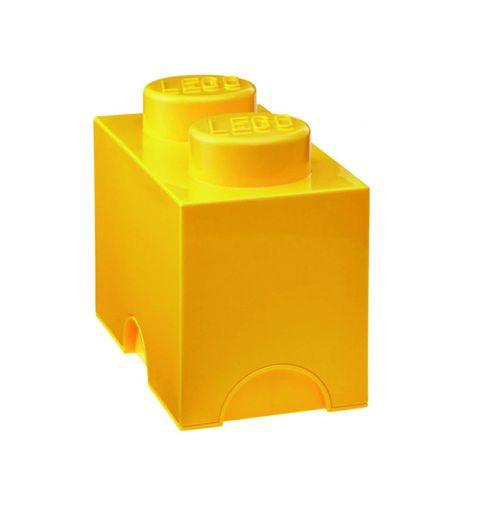 Lego Storage Brick Yellow
