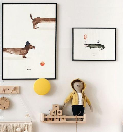 Coco the Crocodile poster from Mado :: Availalbe at Baby Bottega