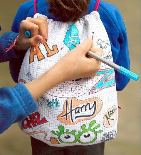 Doodle Backpack from Eat Sleep Doodle :: Baby Bottega