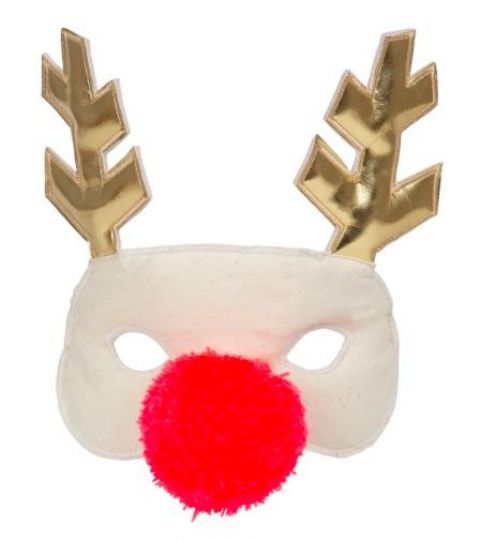 Reindeer Fabric Mask from Meri Meri