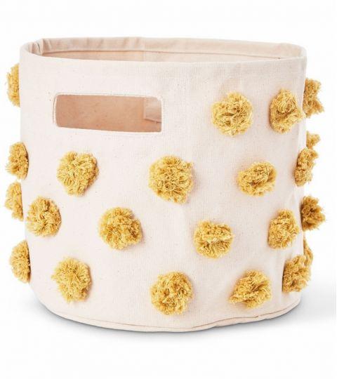 Pompom Marigold Storage Pint from Pehr :: Baby Bottega