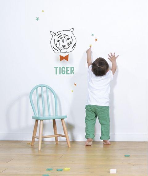Sticker da Muro Tigre Ambiente
