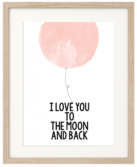 Pink To The Moon Poster