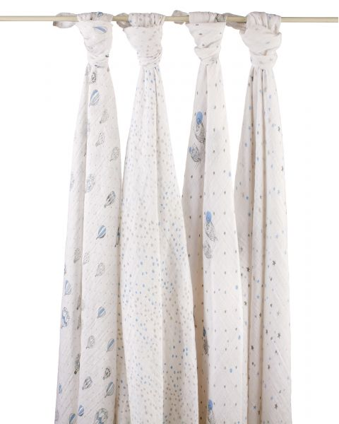 Night Sky Swaddle 4 Pack