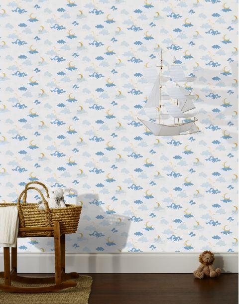 Moons Blue Wallpaper