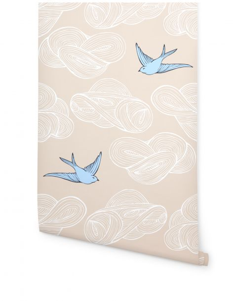 Daydream Cream Wallpaper