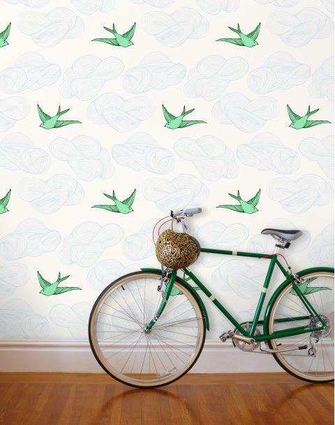 Daydream White Wallpaper