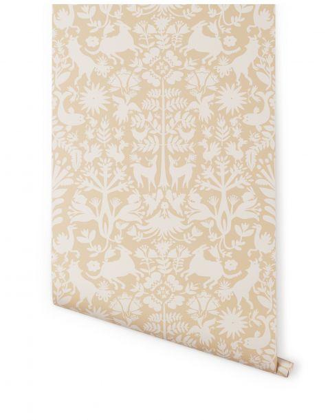 Otomi Cream Wallpaper
