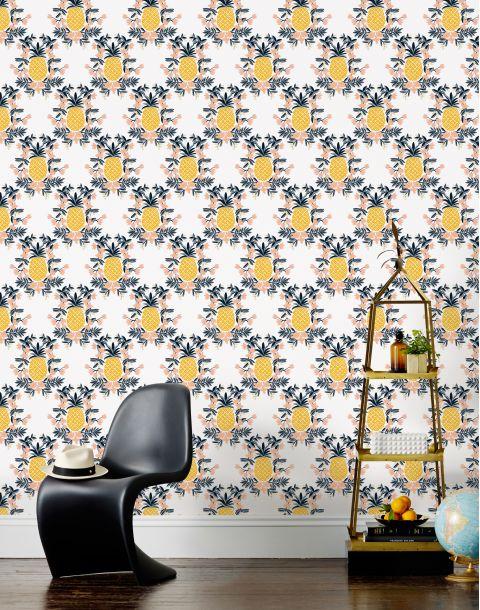 Pineapple Sorbet Wallpaper