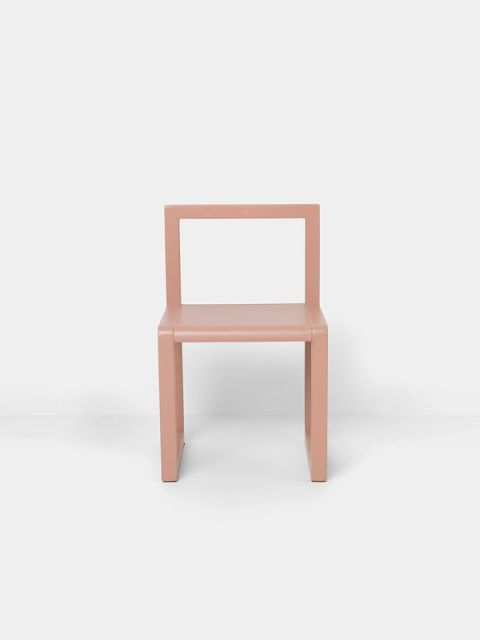 sedia little architect rosa ferm living baby bottega