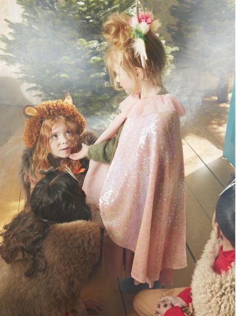 Iridescent Sequin Cape & Wand from Meri Meri :: Baby Bottega