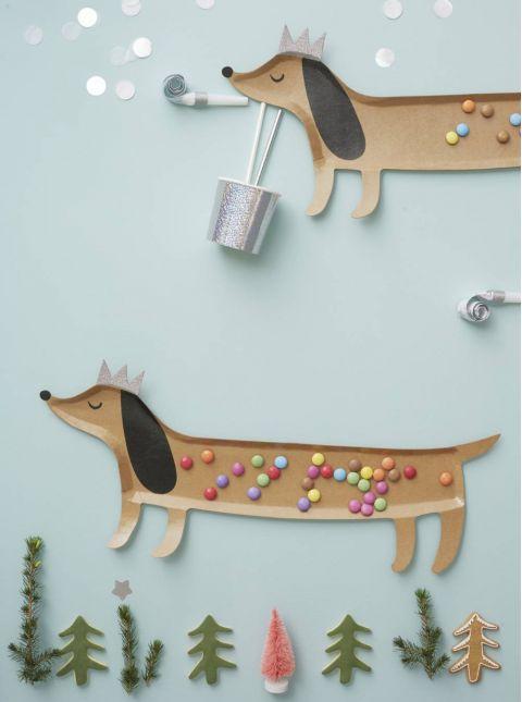 Sausage Dog Platter from Meri Meri :: Baby Bottega