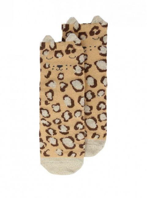 Leopard Sparkle Socks from Meri Meri :: Baby Bottega