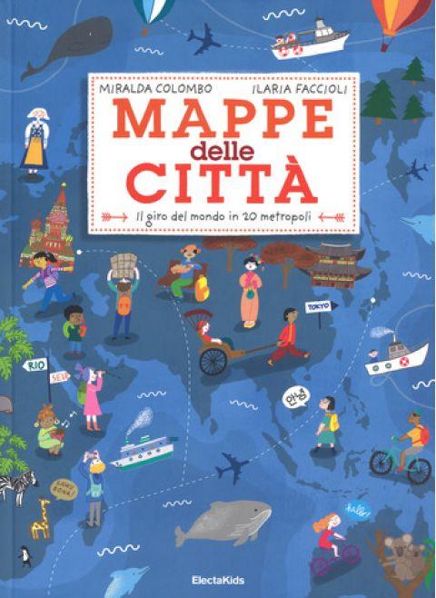 Mappe delle Città, un libro ELeCta :: Design Bottega