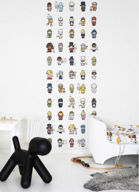 Role Models Wallpaper Mural