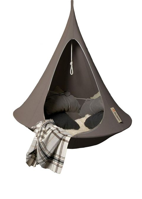Hanging Tent in taupe from Cacoonworld Bebo :: Baby Bottega