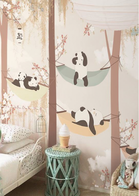 . Sleeping in the Trees Wallpaper Mural