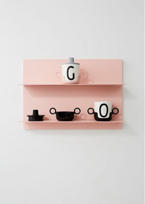 Personal Melamine Cup - U from Design Letters :: Available online Baby Bottega
