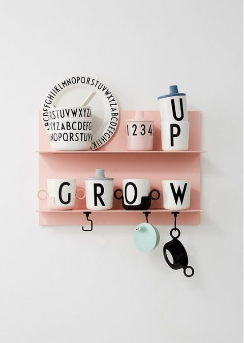 Personal Melamine Cup - R from Design Letters:: Available online Baby Bottega