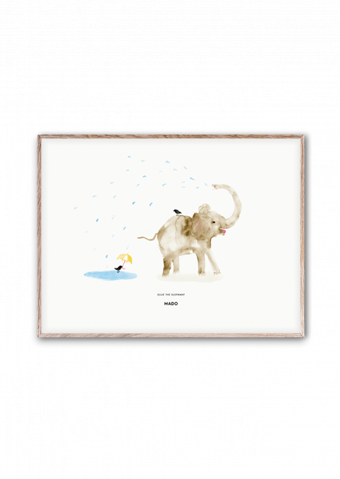 Ellie the Elephant poster from Mado :: Baby Bottega