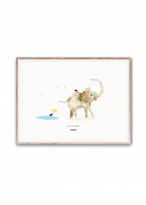 Ellie Elefante poster di Mado :: acquista su Baby Bottega