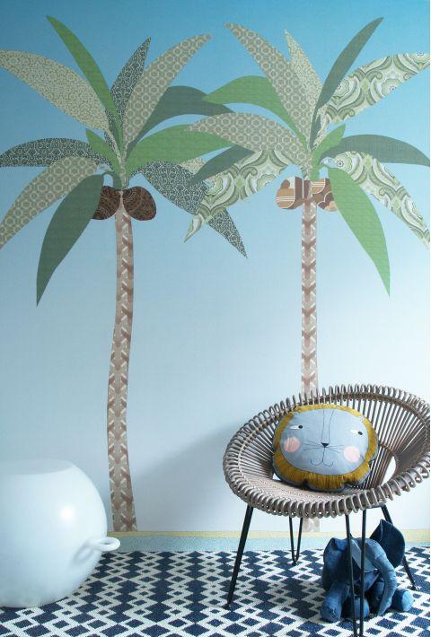 Wallpaper Mural Palms Large