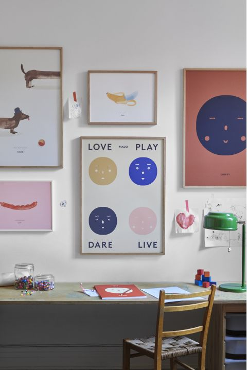 Four Feelings poster from Mado :: Available at Baby Bottega