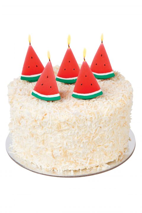 Watermelon Cake Candles