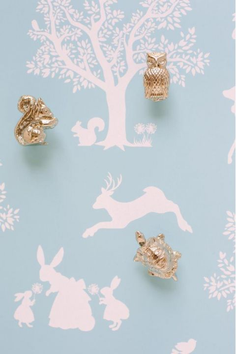 Squirrel Knob Forest Parade Collection :: Knob, Handles & Hooks from Baby Bottega
