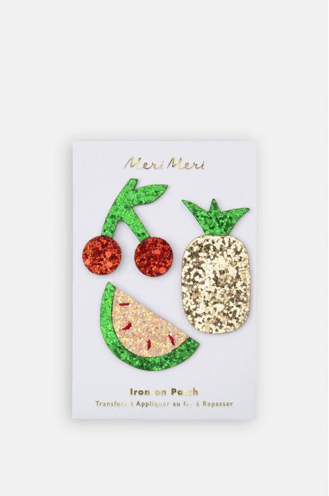 Glitter Fruit Patches from Meri Meri :: Baby Bottega