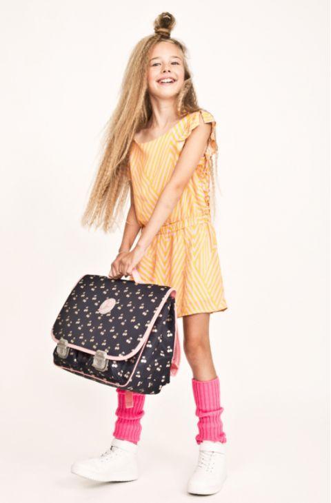Cherry Pink Schoolbag